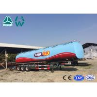 Best 3 Axles Fuel Tanker Semitrailer For Fuel Transport 30,000 liters to 60,000 liters wholesale