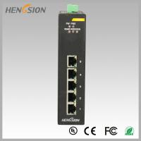 Quality 10Gbps 5 Electric port Industrial Gigabit Ethernet Switch din rail mount wholesale
