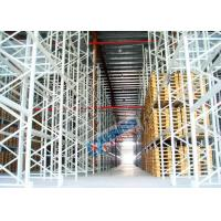China Powder Coating Pallet Rack Shelving , Industrial Pallet Racks Heavy Duty For Singler Layer Stores on sale
