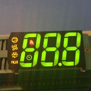 Buy cheap Custom design Multicolour Triple digit 7 segment led display for refrigerator from wholesalers