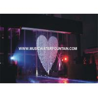 China LED Digital Water Curtain Waterfall Water Feature Fountain Lighting on sale