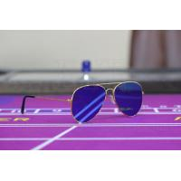 Buy cheap Cool Utraviolet Marked Cards Contact Lenses Perspective Glasses Light Weight from wholesalers