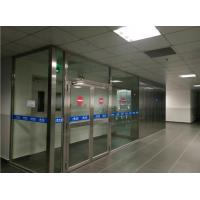 Buy cheap GMP CLass 10000 Cleanroom Decontamination Air Shower With H13 HEPA Filter from wholesalers