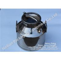 Buy cheap Durable 10 Liter Stainless Steel Milk Bucket with Lockable Lid , Keep Warm from wholesalers