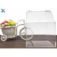 Best House Shape Clear Acrylic Gift Boxes Candy Container Non Toxicity For Retail Store wholesale
