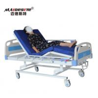 Best Three Cranks Manual Hospital Beds , Adjustable Patient Bed Easy Operation With Controller wholesale
