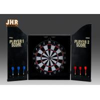 Best MDF Wall Hanging Dart Board Antique Wood Dart Cabinet Set Decorative Wooden Dart Box wholesale