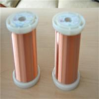 Best Uew Motor Winding Enameled Round Copper Wire With Excellent Film Adhesion wholesale