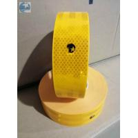 Best Conspicuity ECE 104 Reflective Tape , Gold Yellow Reflective Tape With Edge Class C wholesale