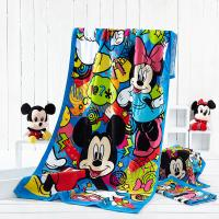 Buy cheap Disney Approved Supplier Customize Minnie Design Reactive Printed Beach Towels from wholesalers