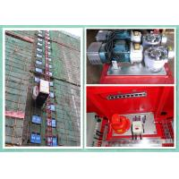 Best Rack & Pinion Elevator With Twin Cage , Passenger Material Hoist Heavy Capacity Load wholesale