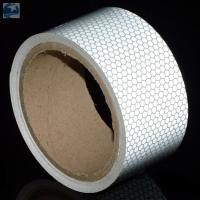 "Best Semi Trailer Wide Transparent Reflective Tape High Intensity Glass Bead 2"" x 30' Roll wholesale"