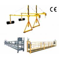 Quality 800 Rated Load Rope Steel Suspended Window Cleaning Platform with Dipping Zinc wholesale