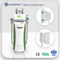 Best Fat Burning 5 handles Vacuum Cavitation+RF+Cryolipolysis Radio Frequency slimming machine wholesale