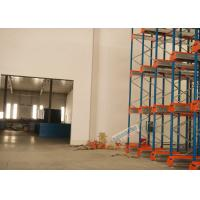 Best Multi Deep Shuttle Storage Pallet Racks 2 Aisles With 400W Travelling Motor wholesale