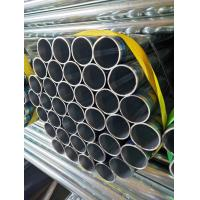 Best 60-69HRC Hardness Hot Dip Galvanized Steel Pipe / Pre Gi Tube For Construction wholesale