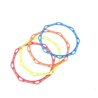 8 Sided Football Training Rings , 50cm Octagon Agility Ladder for sale