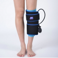 China PVC Black Insulated Cold Compression Wrap For Calf Muscle for sale