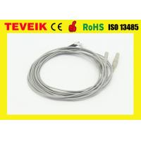 Best EEG Medical Cable, Silver Plated Copper Electrode, DIN1.5 socket wholesale