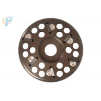Buy cheap light weight design alloy material disc with 6 blades for bovin hoof trimming from wholesalers