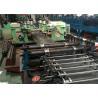 Best Upright Shelf Frame Storage Rack Roll Forming Machine 7.5kw Galvanized Steel Q235 wholesale