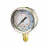 100mm Bottom-Entry Pressure Gauge for sale