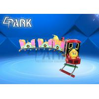 China Funny Children Train Ride On Track 7 Seats For Amusement Park on sale
