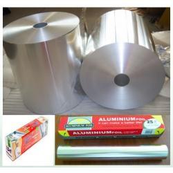 China Composited Plain 0.2mm SGS Pharma Alu Foil Roll for sale