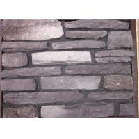 Quality Multi - Shape Concrete Brick Veneer , Artificial Faux Stone For Outside Of House wholesale