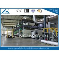 China AL -1600SSS Spun Bonded PP Non Woven Fabric Making Machine , Non Woven Fabric Plant on sale