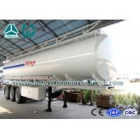 Best Multi Functional 35 Cbm Stainless Steel Fuel Tank Semi Trailer 3 axles wholesale