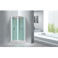 Quality Free Standing Quadrant Shower Cubicles With Transparent Tempered Glass Fixed Panel wholesale