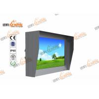 Quality Dustproof Wall Mounted Digital Signage With Intelligent Brightness Adjustment System wholesale