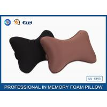 Best Black Colour Memory Foam Car Neck Pillow , Auto Head Support Cushion wholesale