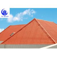 Best Versatile Building Materials Light Weight Spanish Synthetic Resin Roof Tile wholesale