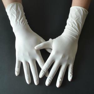 Best Powder Free Disposable Medical Gloves , Medical Rubber Gloves Fingertip Textured wholesale