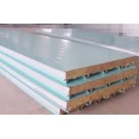 Buy cheap Color Coated Roofing Composite Sandwich Panels Polyurethane PU Sandwich Panel 40 Kg/M3 from wholesalers