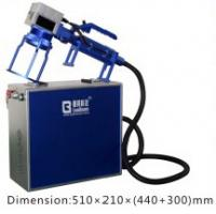 Quality Handle Fiber Laser Engraving Machine Small  /  Convenient Laser Marking Machine wholesale