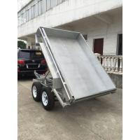 Quality Galvanised Hydraulic Tipper Trailer / 8 X 5 Tandem Trailer  2 Axle wholesale