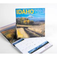 Best High - End Full Color Spiral Paper Wall Calendars With Custom Printing Pattern wholesale