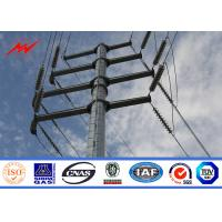 Buy cheap Distribution electric tubular tube Pole Electric Power Pole AWSD1.1 Welding For from wholesalers