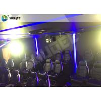 Best 7D Cinema Theater With Laser Games And Live Action Movies For Science And Horror wholesale