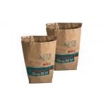 China Manufacturer 25kg Mechanism Multiwall Kraft Paper Bags Brown Paper Bag for sale