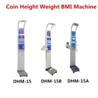 Best Coin Operated Body Weight Height Scale , Professional Medical Grade Weight Scale wholesale
