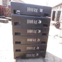 China Precision Calibration & Equipment Customized New Design 1000lb Cast Iron Heavy Capacity Weight on sale