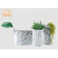 Best Marbling Clay Flower Pots Fiberclay Plant Pots Large Pot Planters Clay Floor Vases wholesale