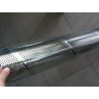 Best Galvanized Steel Spiral Perforated Tube , Perforated Muffler Tubing ASTM GB DIN wholesale