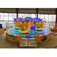 Best Anti Corrosion Paint Kiddie Amusement Rides Customized Color 1 Year Warranty wholesale