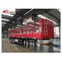 Best Cargo Stake Side Wall Semi Trailer 60T Heavy Duty Load With Longer Service Life wholesale
