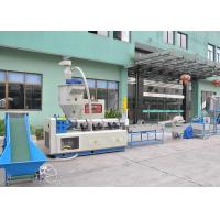 Pe Film Plastic Recycling Equipment Low Noise With 150 310 Mm Screw Dia LDL-SJP-150